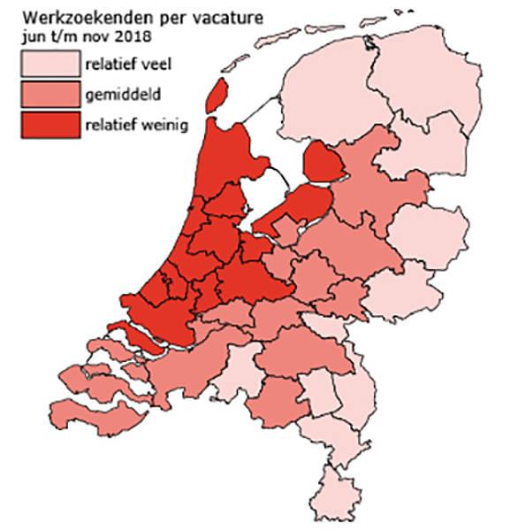 Werkzoekenden Per Vacature Leerkracht Basisonderwijs, Juni Tm November 2018